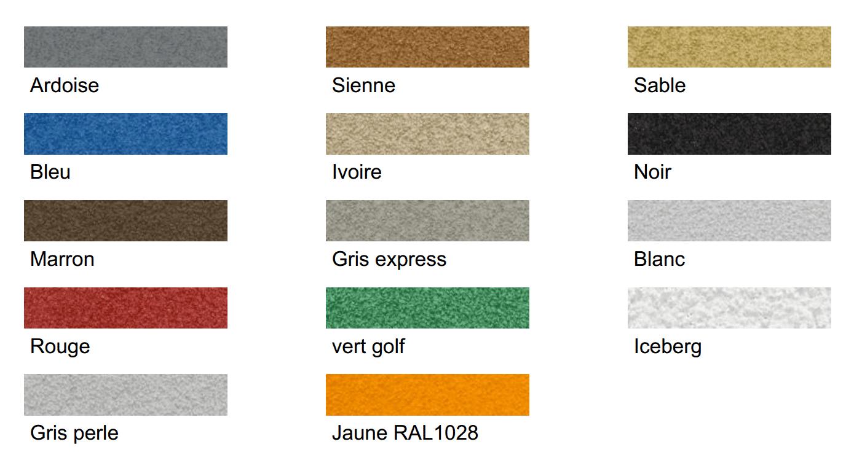 Coloris Elastomères