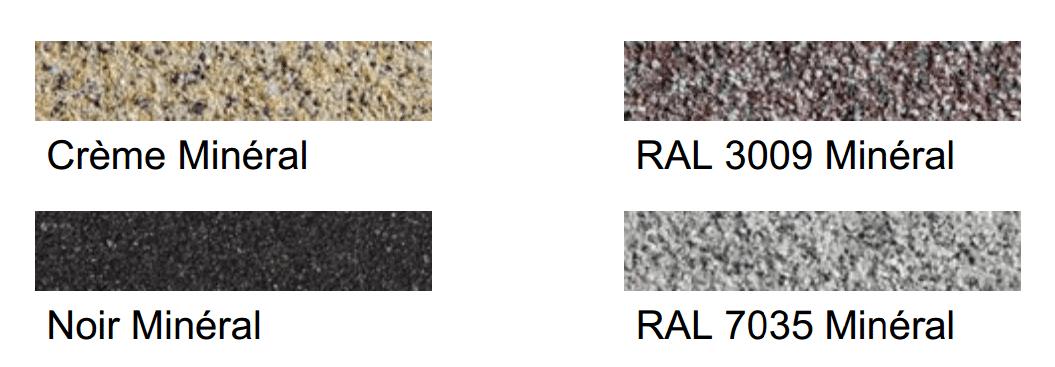 Coloris Minéral