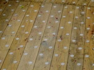 Plot Antidérapant terrasse bois