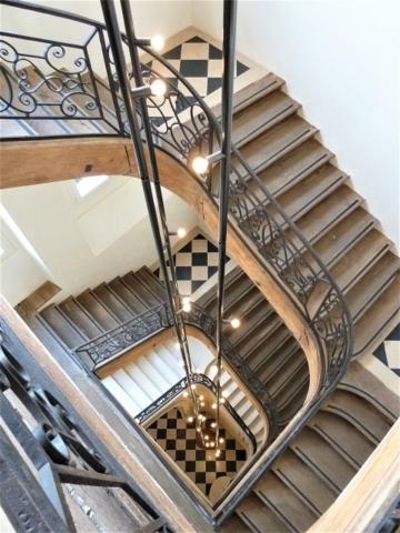 Sécurisation ancien escalier bois